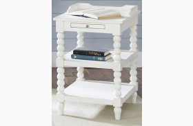 Harbor View Linen Finish Chair Side Table