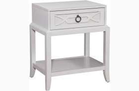 Grand Haven Lace Finish Night Table