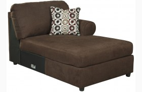 Jayceon Java Finish RAF Corner Chaise