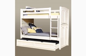 Cottage Traditions White Bunk Bed