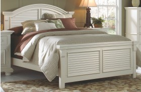 Cottage Traditions White Panel Bed