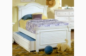 Cottage Traditions White Youth Panel Bed