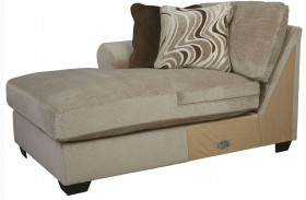 Hazes Fleece Finish LAF Corner Chaise