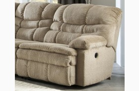 Zavion Beige Finish RAF Zero Wall Recliner