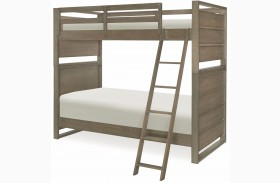 Big Sky by Wendy Bellissimo Weathered Oak Bunk Bed