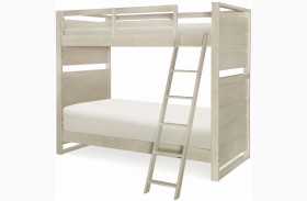 Indio by Wendy Bellissimo White Sand Youth over Youth Bunk Bed