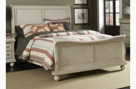 Rustic Traditions II Sleigh Bed