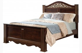 Odessa Cherry Poster Bed