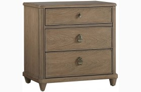 Virage Basalt Finish Nightstand