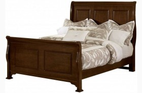 French Market French Cherry Sleigh Bed