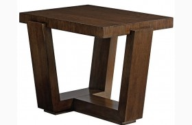 Laurel Canyon Esplanade Square End Table