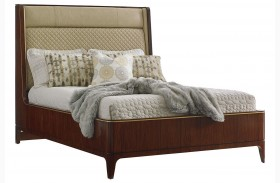 Take Five Empire Upholstered Platform Bed