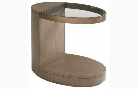 Shadow Play Oval End Table