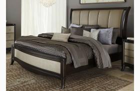 Sunset Boulevard Sleigh Bed