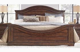 Stonebrook Tobacco Panel Bed