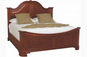 Cherry Grove Classic Antique Cherry Mansion Bed