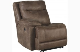 Valto Saddle Finish LAF Recliner