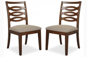 Claire de Lune Side Chair Set of 2
