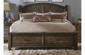 Modern Country Poster Storage Bed