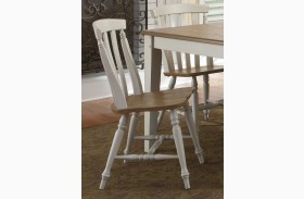 Al Fresco III Slat Back Dining Chair Set of 2