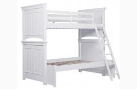 SummerTime Fresh White Bunk Bed