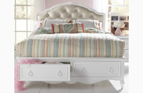 SweetHeart Youth Upholstered Storage Bed