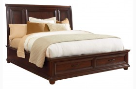 Vineyard Casual Tobacco Platform Storage Bed