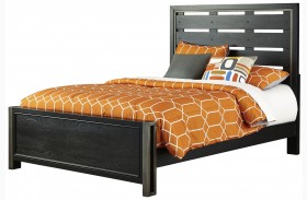 Graphite Youth Panel Bed