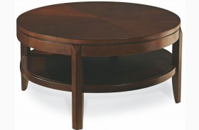 Tribecca Root Beer Finish Round Cocktail Table