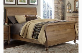 Southern Pines II Sleigh Bed