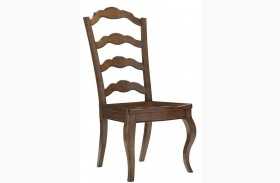 Coventry Hills Princeton Finish Ladder Back Side Chair