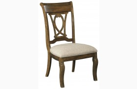 Portolone Slat Back Dining Chair Set of 2