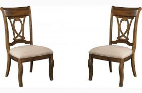 Portolone Slat Back Dining Chair Set of 2