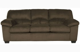 Dailey Chocolate Finish Sofa