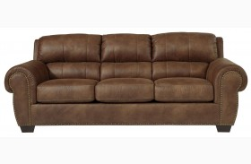 Burnsville Espresso Finish Sofa