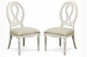 Summer Hill Pierced Back Chair Set of 2