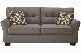 Tibbee Slate Finish Sofa