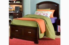 Park City Merlot Youth Platform Storage Bed