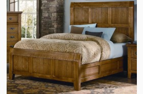 Timber Mill Oak Timber Bed