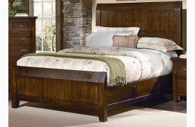 Timber Mill Pine Timber Bed