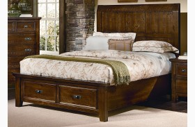 Timber Mill Pine Timber Storage Bed