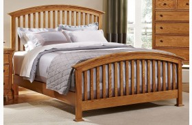 Forsyth Medium Oak Arched Bed