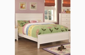 Ashton White Youth Panel Bed