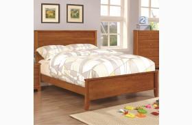 Ashton Honey Youth Panel Bed