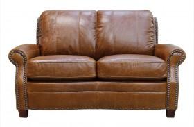 Ashton Italian Leather Loveseat