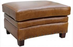 Ashton Italian Leather Storage Ottoman
