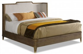 Atherton Cerused Teak Bed