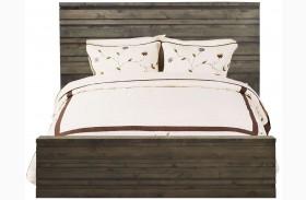 Avondale Charcoal Platform Bed