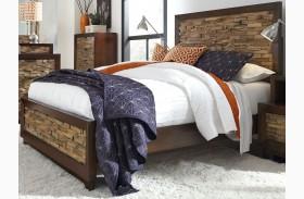 Bali Dark Mahogany Bed