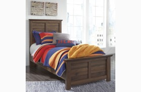 Burminson Brown Youth Panel Bed